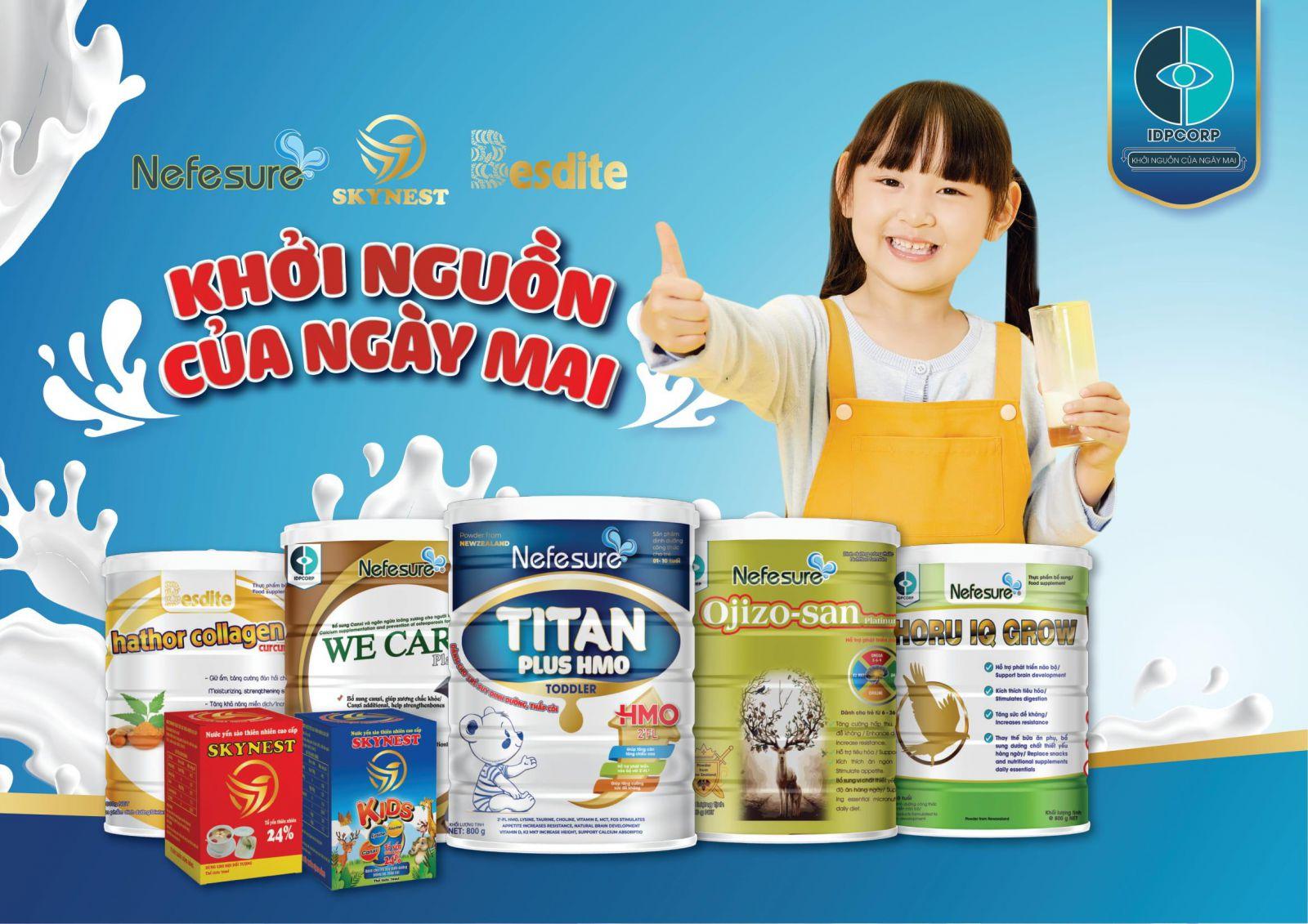 Địa chỉ cung cấp sữa bột tại HCM uy tín, chất lượng nhất